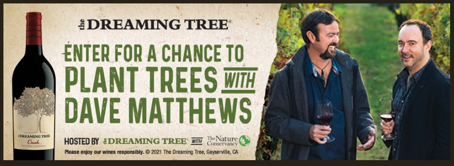 Constellation Brands Dreaming Tree 2021 Sweepstakes