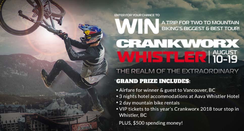 Crankworx Contest