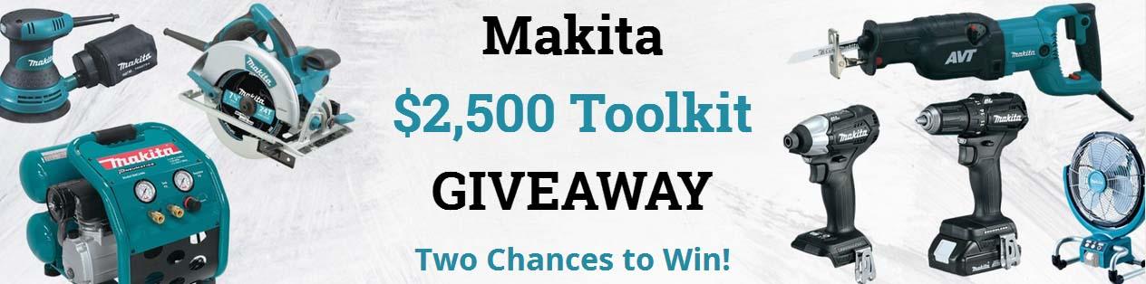 Makita Toolkit Giveaway