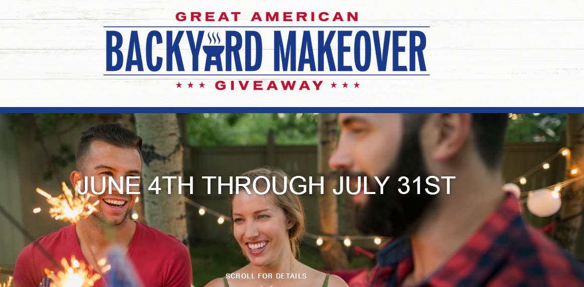 Taylor Morrison Great American Backyard Giveaway