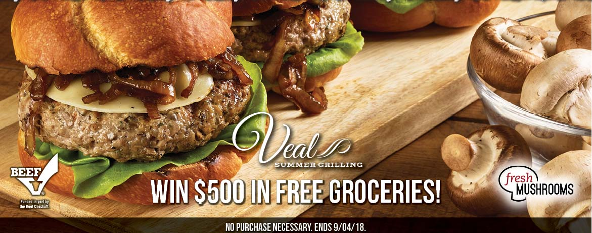 Veal Summer Grilling Sweepstakes