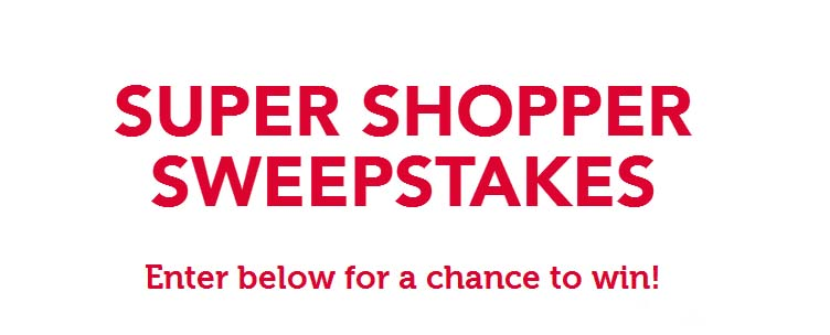 ZuPreem Super Shopper Sweepstakes