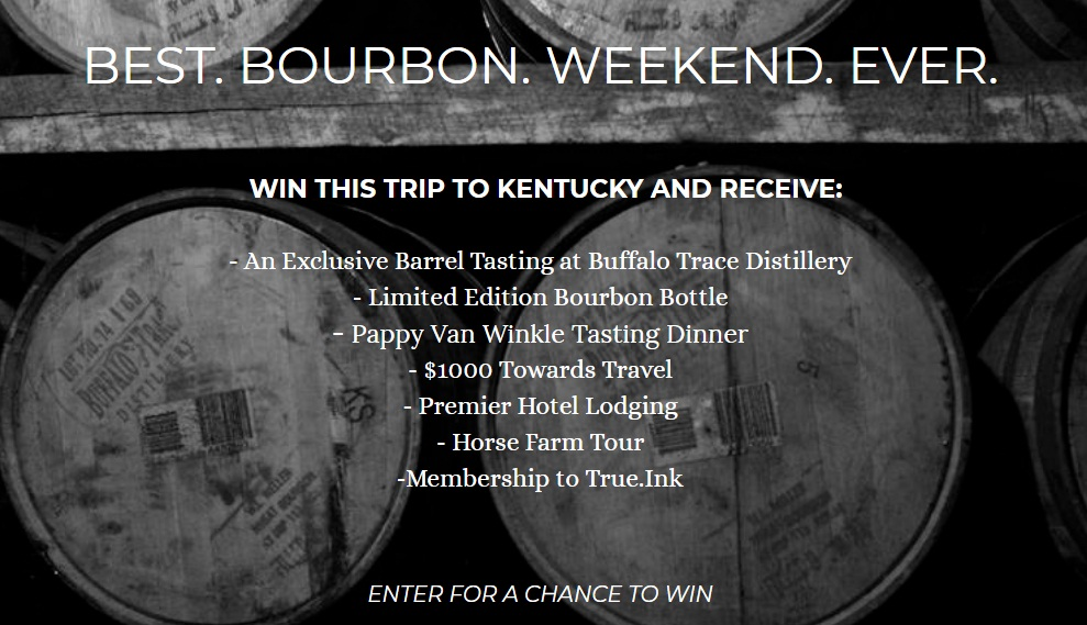 Be A Bourbon Master Sweepstakes - Win A Trip To Kentucky