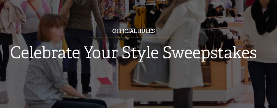 Celebrate Your Style Sweepstakes