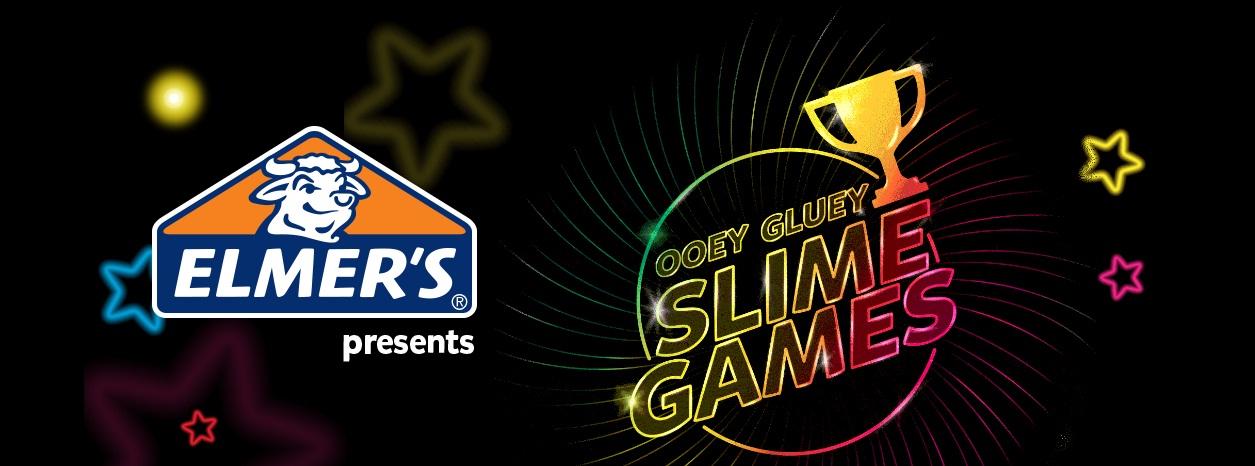 Elmer Ooey Gluey Slime Games Contest
