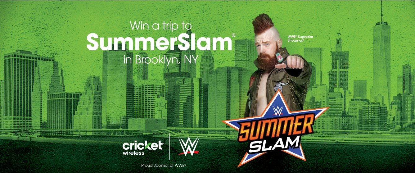 SummerSlam Flyaway Sweepstakes - Win A Trip To Brooklyn, NY