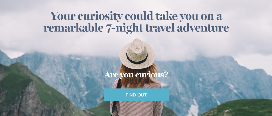 The Curio Collection By Hilton Curious Travel Sweepstakes