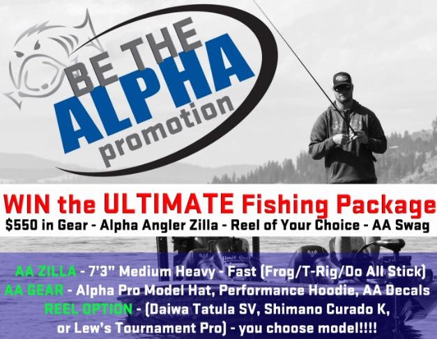 Alpha Angler Be The Alpha Promotion
