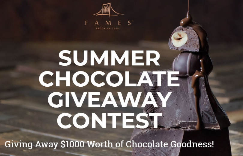 Fames Summer Chocolate Giveaway