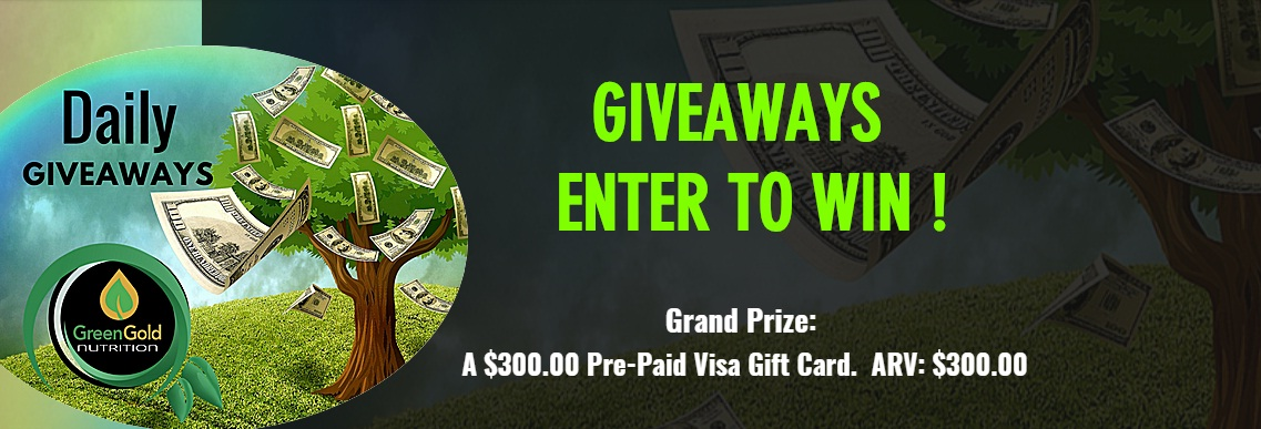 Green Gold Nutrition Giveaway