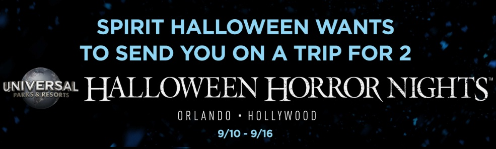 Halloween Horror Nights Sweepstakes
