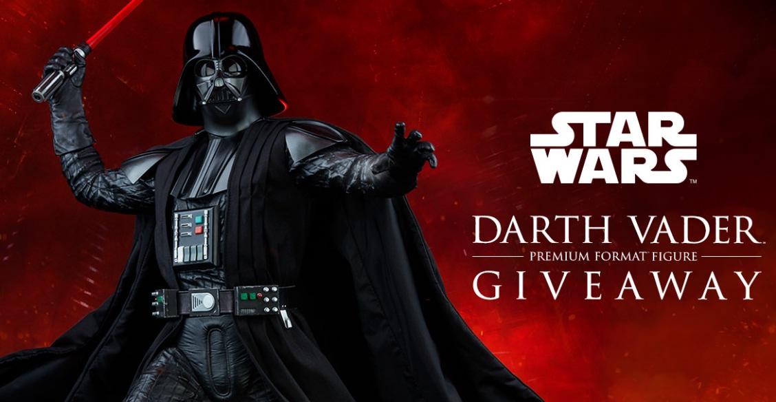 Sideshow Darth Vader Giveaway