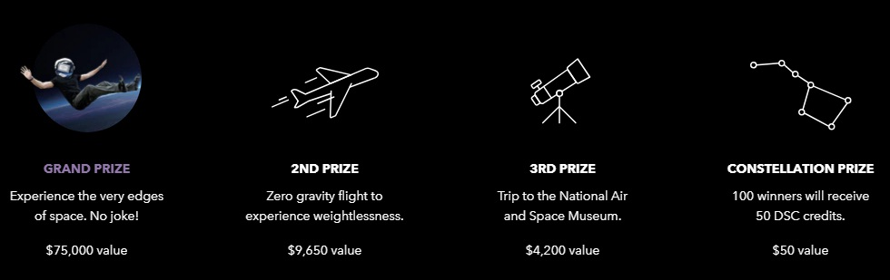 Dollar Shave Club Space Butler Sweepstakes