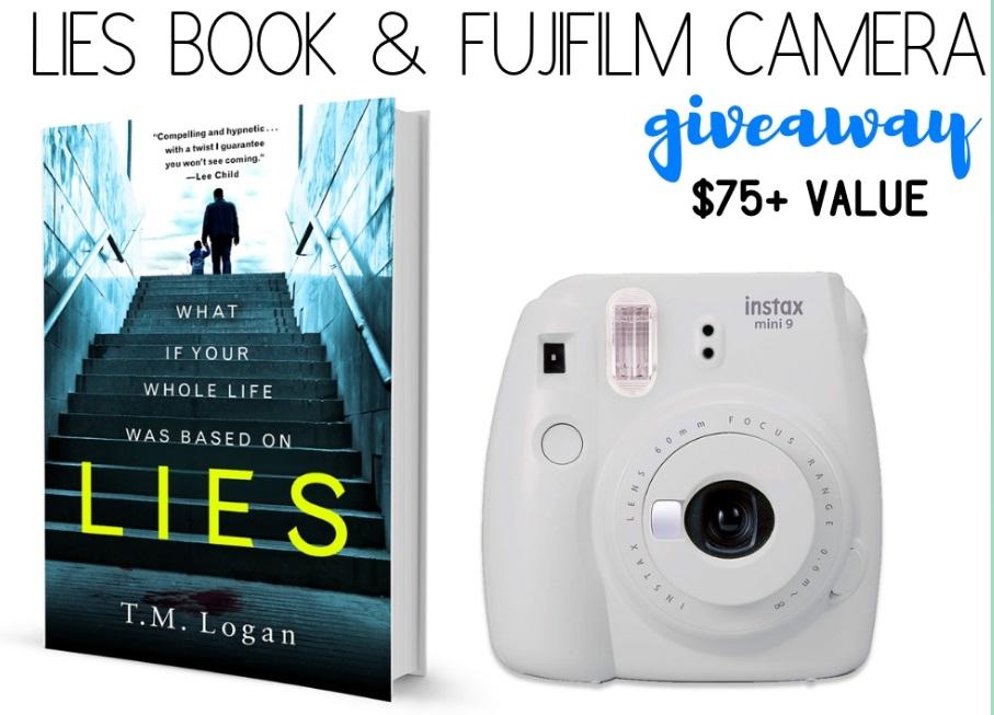 Lies Book And Fujifilm Camera Giveaway