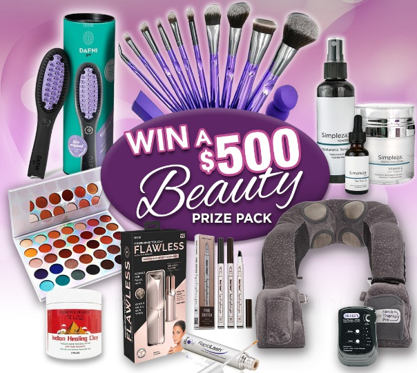 Showcase $500 Beauty Prize Pack Contest