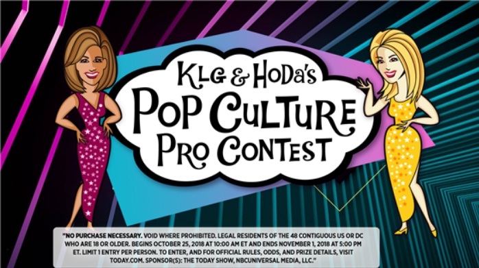 Today KLG And Hoda Pop Culture Pro Contest