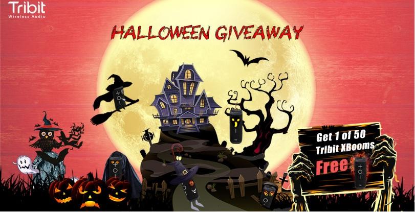 Tribit Halloween Giveaway