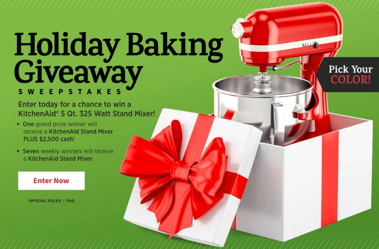 Allrecipes Holiday Baking Giveaway