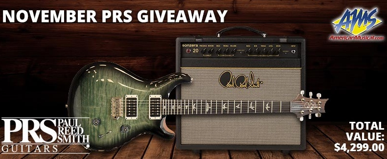 American Musical Supply PRS Guitar Rig Giveaway