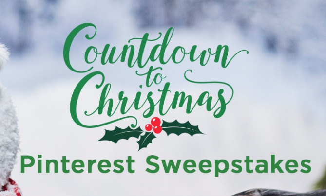 Hallmark Channel Second Annual Countdown To Christmas Pinterest Sweepstakes