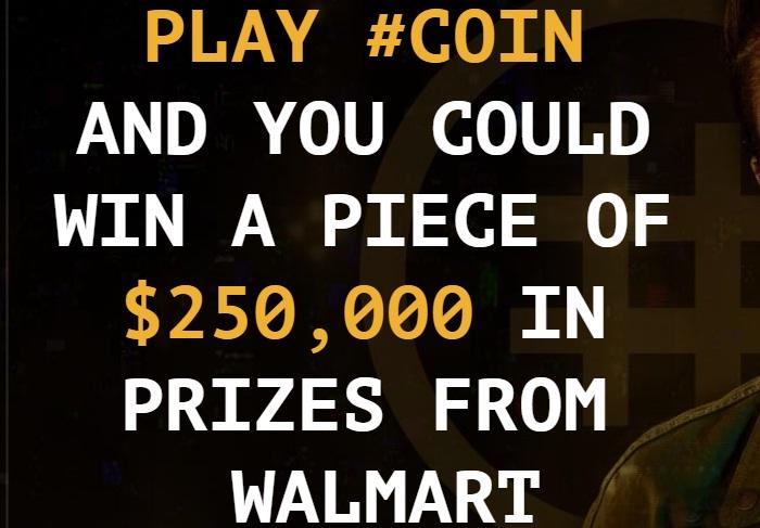 Walmart War Games Coin Contest