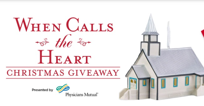 Hallmark Channel When Calls The Heart Christmas Giveaway