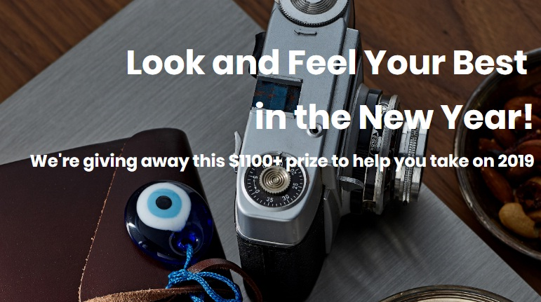 Look And Feel Your Best In The New Year Sweepstakes