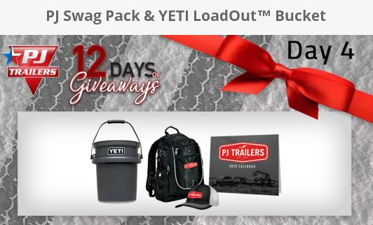 PJ Trailers 12 Days of Christmas Giveaway