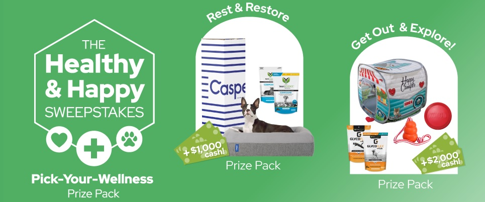 VetriScience Laboratories The Healthy And Happy Sweepstakes