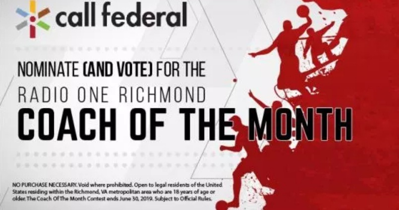 Call Federal Coach Of the Month Contest