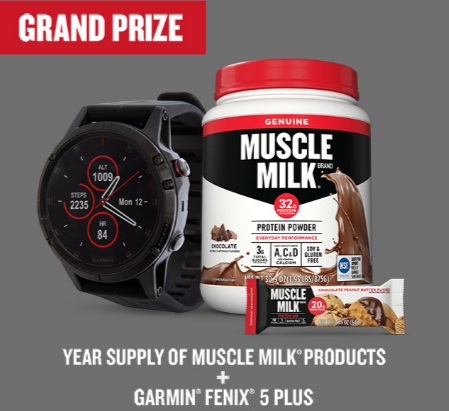 Muscle Milk Year Of You Sweepstakes