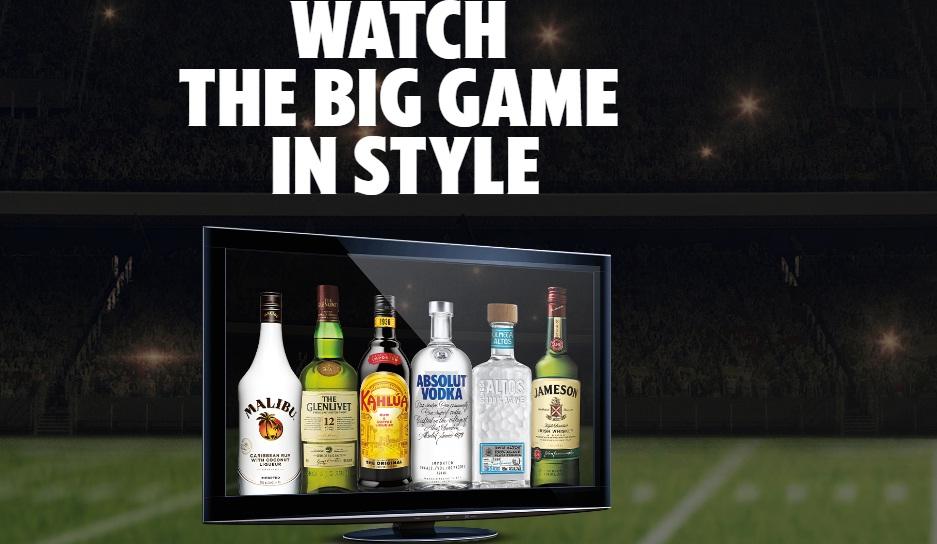 Pernod Ricard Big Game Sweepstakes