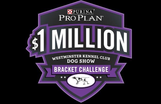 Purina Pro Plan $1 Million Westminster Kennel Club Dog Show Bracket Challenge