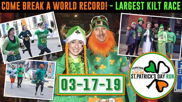 100.7 WMMS Cleveland St. Patricks Day Run Contest