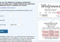Walgreens Customer Satisfaction Survey Sweepstakes