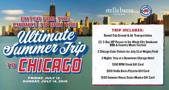 The Stella Barra Summer Vacation Sweepstakes