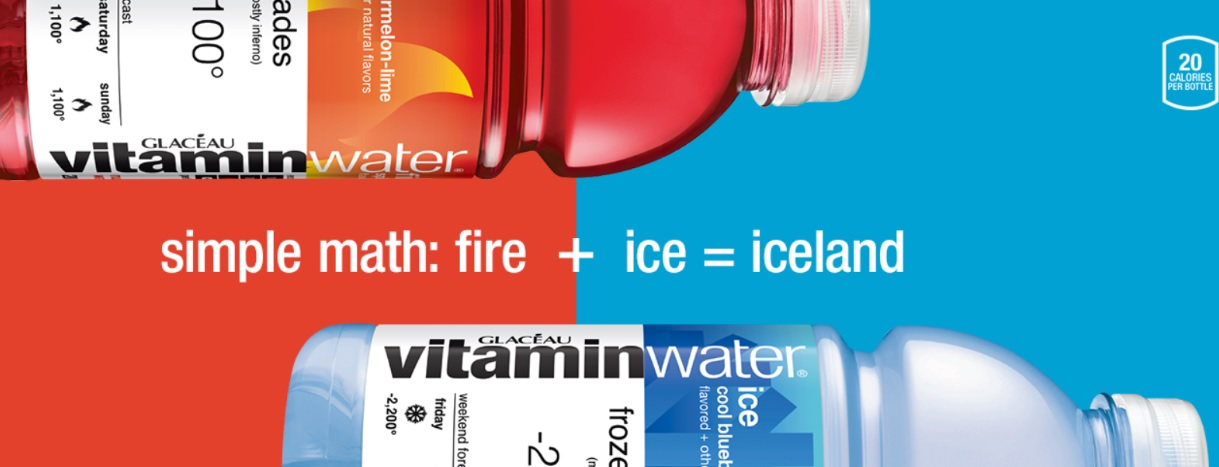 Vitaminwater Fire And Ice Social Sweepstakes