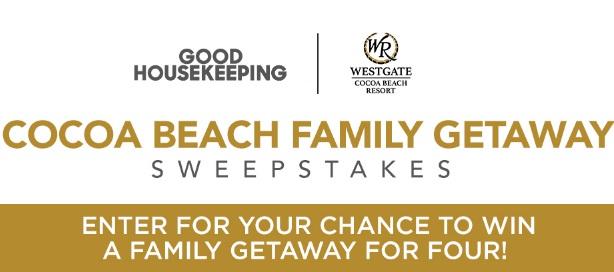 Good Housekeeping Cocoa Beach Family Getaway Sweepstakes