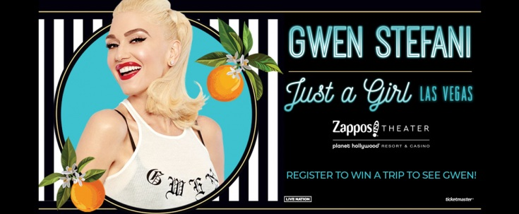 Gwen Stefani Just A Girl In Las Vegas Contest