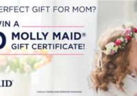 Molly Maid Mothers Day Giveaway