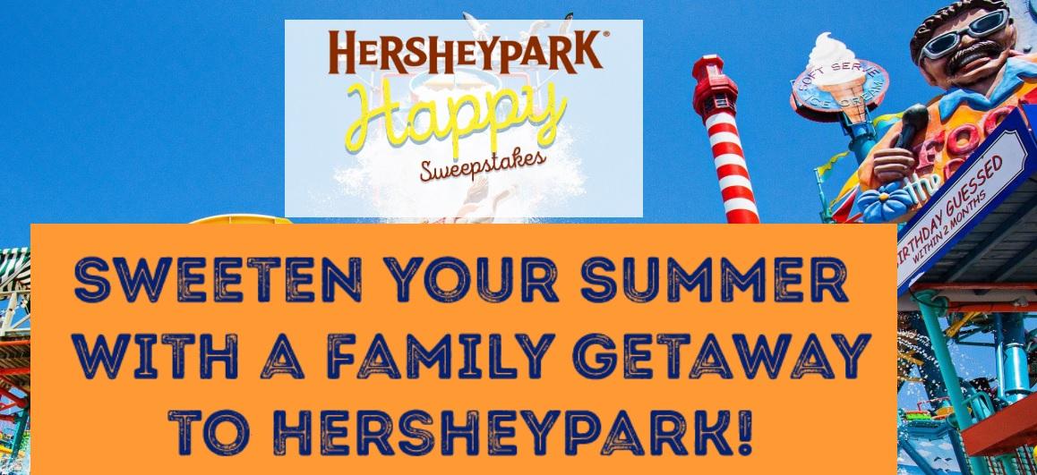 Hersheypark Happy Sweepstakes