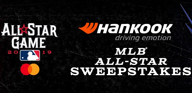 MLB Hankook Tire All Star Sweepstakes