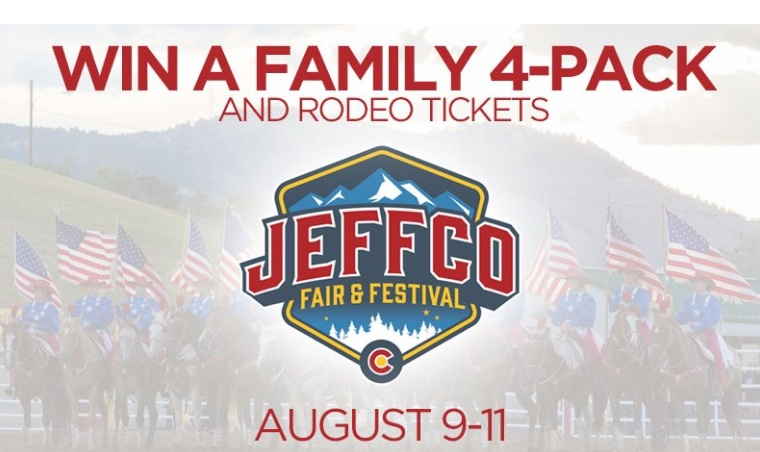 KDVR-TV Jeffco Fair And Festival Rodeo Tickets Giveaway