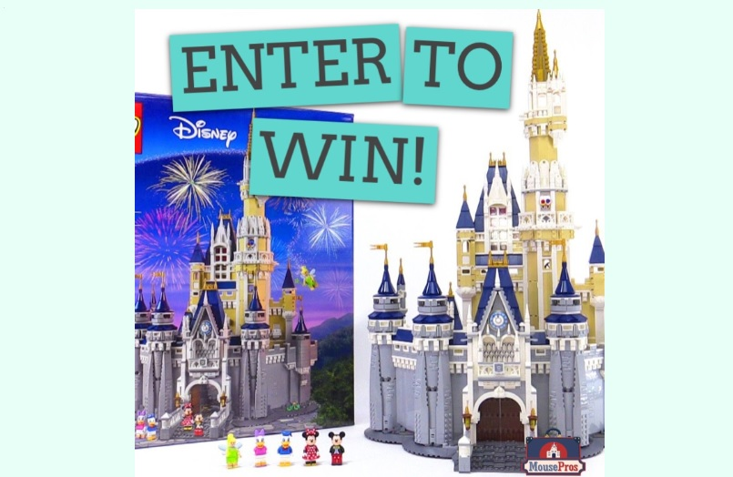 MousePros LEGO Disney Castle Giveaway