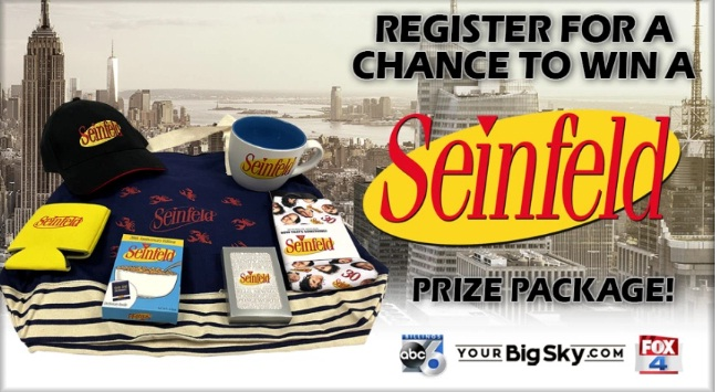 KSVI And KHMT Seinfeld Prize Package Giveaway