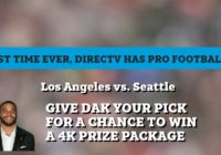 DIRECTV 4K Television Sweepstakes