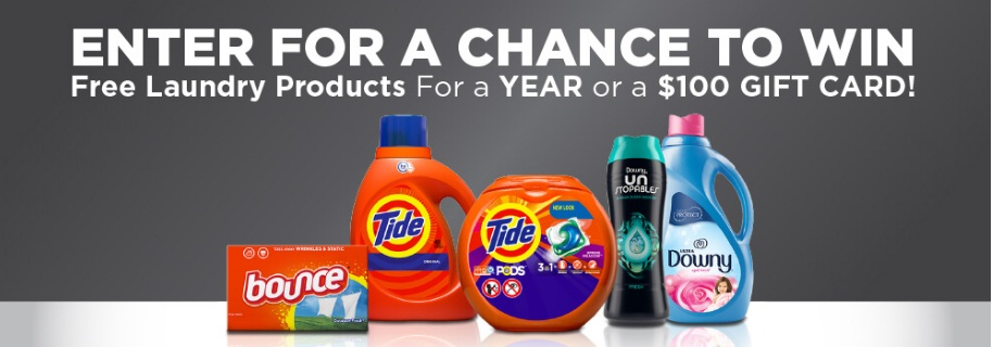 Procter And Gamble The Tide Sweepstakes