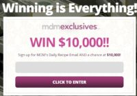 Flatiron Media MyDailyMoment $10,000 Cash Sweepstakes