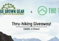 Garage Grown Gear Thru Hiking Giveaway