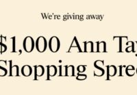Premium Brands Ann Taylor $1,000 Gift Card Giveaway